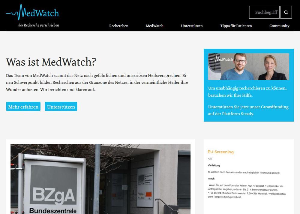 Website Medwatch