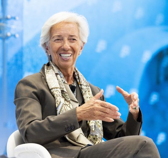 Christine Lagarde becomes President of the European Central Bank.