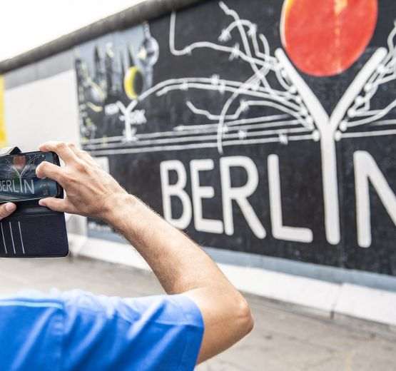 Today the Wall is a tourist attraction in Berlin.