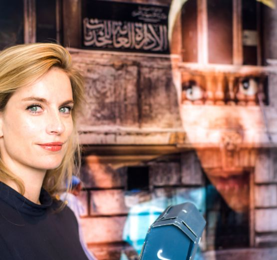 VR journalist Julia Leeb from Munich.