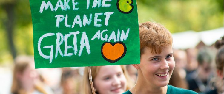 Fridays for Future-Demo in Magdeburg