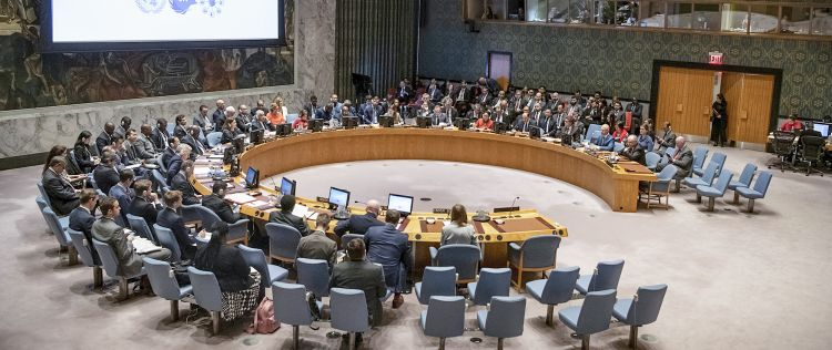 The first session of the Security Council with Germany.