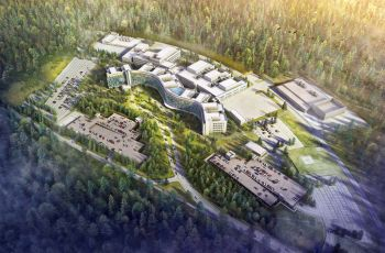 The largest US military hospital outside of the US is being built in Weilerbach (Germany)