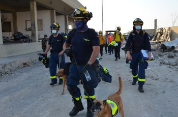 Relief personnel from the Federal Agency for Technical Relief have been deployed in Lebanon.