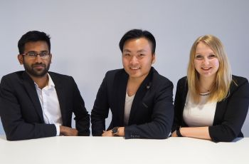 The founders of MyHelpBuddy