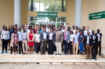 Group photo of the Summer School 2018 in Ghana