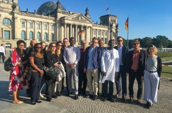 Media professionals from all over the world in Berlin
