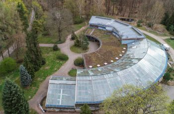 The forest-botanical garden at Eberswalde University (HNEE)