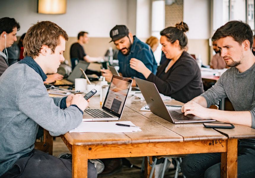Startups in Berlin: coworking space