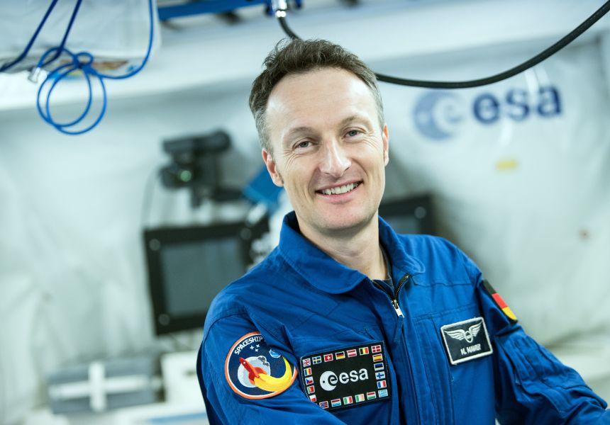 ESA astronaut Matthias Maurer was born in the Saarland in 1970.
