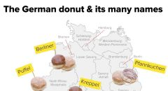 The german donut and its many names