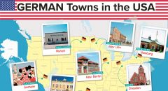 German towns in the USA