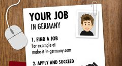 Checklist: Your job in Germany