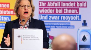 Weniger Plastikmüll, mehr Recycling