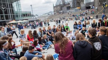 Fridays for Future demo in Cologne