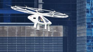 German air taxi passes test flight