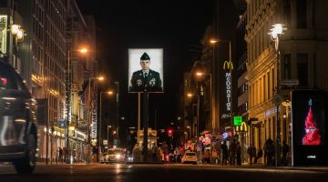 Tourist magnet Checkpoint Charlie