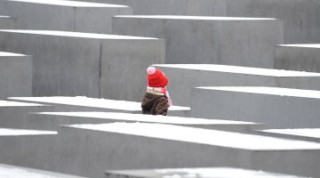 Das Holocaust-Mahnmal in Berlin.