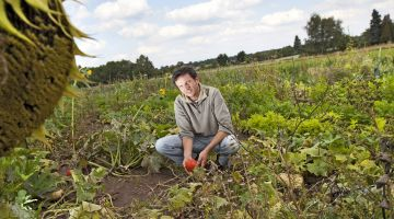 In harmony with nature and the animal world: organic farmer Thomas Goebel