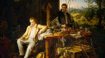 Alexander von Humboldt and Aimé Bonpland at the Orinoco