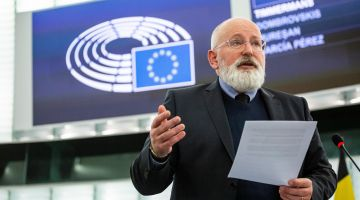 Frans Timmermans, EU-Commissioner for Climate
