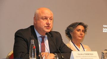 2017 Bundestag elections: George Tsereteli heads the OSCE Election Observation Commission.