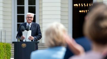 Federal President Steinmeier celebrates the Basic Law.