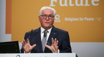 German president warns against using religion for political gains