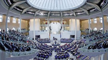 One of the tasks of the Bundestag is to pass laws