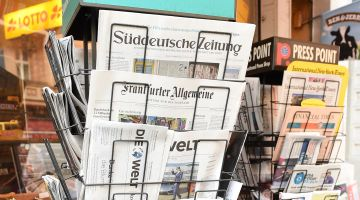 Press commentaries on the German election