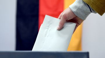 "OSCE: ""German voters place their trust in democracy."""