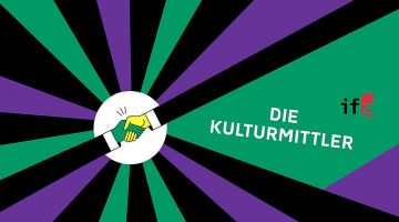 "Podcast ""Die Kulturmittler"" from the ifa"