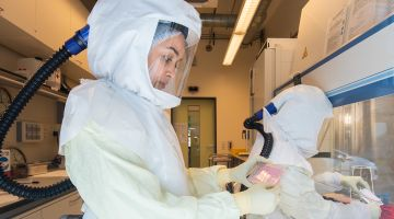 A researcher at the Helmholtz Centre for Infection Research