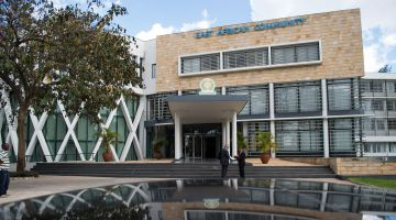 Symbol of cooperation: the building of the EAC Secretariat, financed by Germany