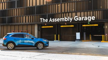 Assembly Garage: leisurely parking thanks to German technology