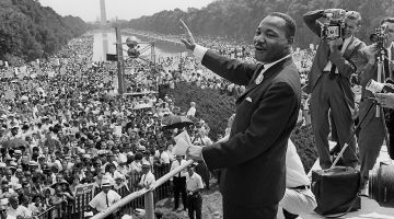 Martin Luther King received the 1964 Peace Nobel Prize
