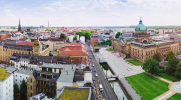 Leipzig provides space for ideas and projects.