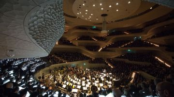 The Elbe Philharmonic Concert Hall offers an extensive digital programme.