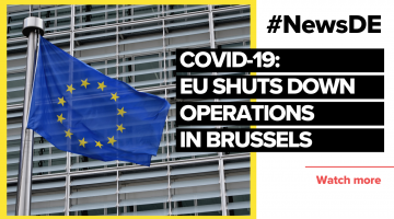 EU shuts down operations in Brussels