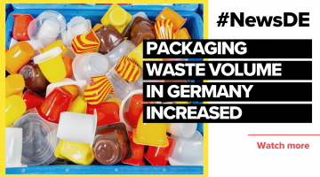 Packaging waste volume in Germany continues to rise