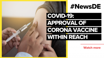 Approval of corona #vaccine within reach