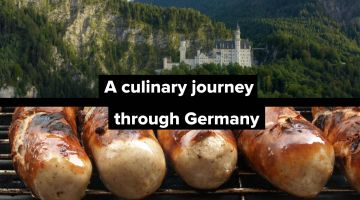 A Culinary journey through Germany