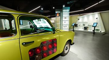 Observation Trabant at the Spy Museum