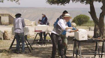 A training programme for stonemasons in Jordan
