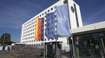 The UN campus in Bonn