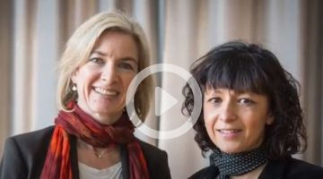 0:02   0:14 / 0:44  #NobelPrize in Chemistry to genetic researchers Charpentier and Doudna