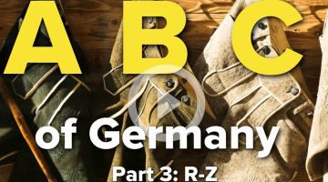 3/3 - Autobahn, Bargeld, CO2 Bilanz: Understanding Germany from A to Z
