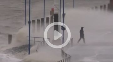 "Hurricane ""Sabine"" hits Germany with force"