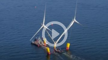 Floating wind turbine to be tested in Baltic Sea
