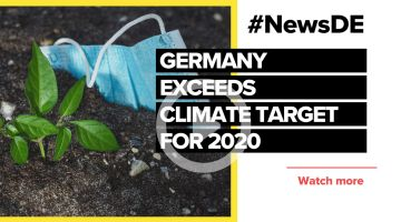 Germany exceeds 2020 climate target